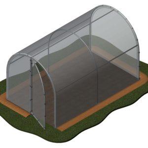 Invernaderos de 2 metros de ancho