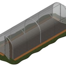 Invernadero 13,60 m2