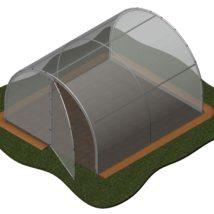 Invernadero 10,2 m2