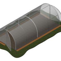 Invernadero 20,40 m2