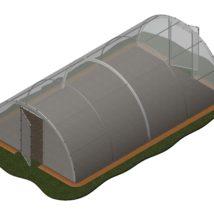 Invernadero 27,20 m2